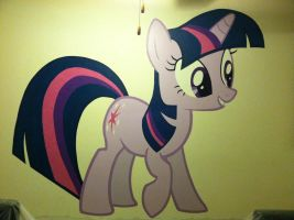 Twilight Sparkle Mural by HeyApplejack