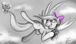 Fanart - MLP. Fleeting Flitter by jamescorck