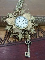 Steampunk Necklace Key by SteamPunkJennie