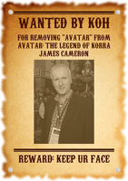 James Cameron Wanted by Koh by Winter-Phantom