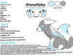 Snowflake ref by Ice-Claw-Wolf