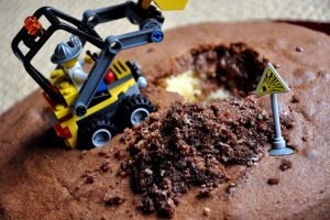 digger cake by tahnee-r