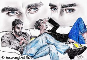 Richard Armitage Lee Pace, Thorin and Thranduil by jos2507