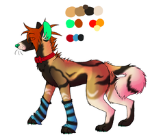 Cayleigh Ref by Closet-Furry