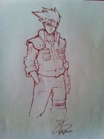 Sketches - Kakashi by jack0001