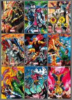 Marvel 75th Anniversary Sketchcards Sample by PencilInPain