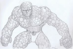 Thing - Pencil Study by aminamat