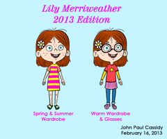Lily Merriweather Design and Wardrobe for 2013 by ryuuseipro