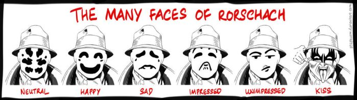 The Many Faces of Rorschach by StephWSM