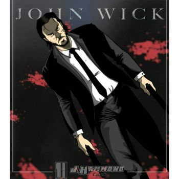 John Wick by jhammondART