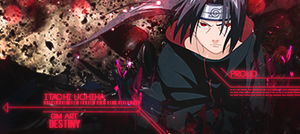 Itachi Uchiha Glow by GreenMotion