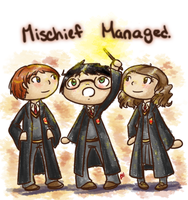 HP: Mischief Managed by RitsuBel