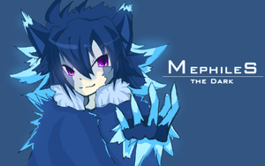 rawr Mephiles by Crossing-Shadows