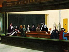 Phantom Nighthawks by AnnyBodys