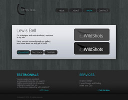 Portfolio V2 - lbell.co.uk by LewisBell