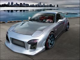 Mazda RX-7 (FD) by apple-yigit-jack