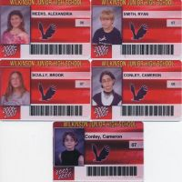 Five School IDs by AxelVIII8913