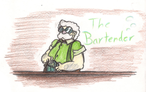 Quick and the Blue: The Bartender by AmbiguouslyAwesome1