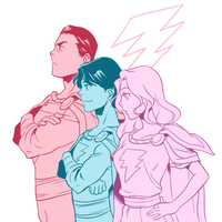 Marvel family by Sii-SEN