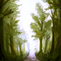 forest 2 by PolkaDotedFlower