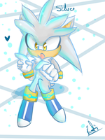 One Hour Sonic: Glowing Silver by vanilla-button