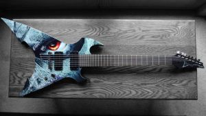 Darksiders 2 Summer of Death Ibanez Guitar by chev327fox