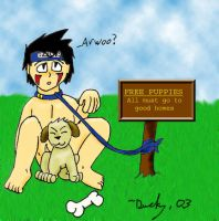 Free Puppies by Anatra