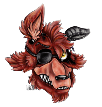 Withered Foxy :v by MegiW
