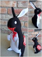 Chester the Zombie Bunny by IckyDog