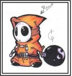 Shy guy by Sicah