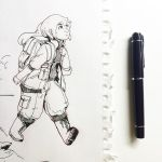Sketchbook: Going on an adventure. by Jay-Bendt