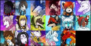 Winter Icons 2010 - Batch 4 by Majime