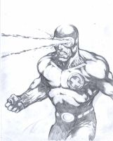 Cyclops sketch by komus