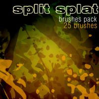 Split Splat _ brushespack by solenero73