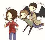 team free will by AmberTheSatyr