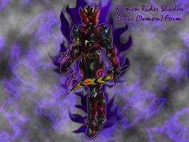 Kamen Rider Shadow by HyperGuyver
