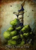 Elven Tower by troubadour93