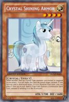 Crystal Shining Armor (MLP): Yu-Gi-Oh! Card by PopPixieRex