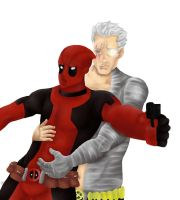 Cable And Deadpool by LIV4TheObsession