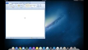 microsoft word in my Os by ldm85