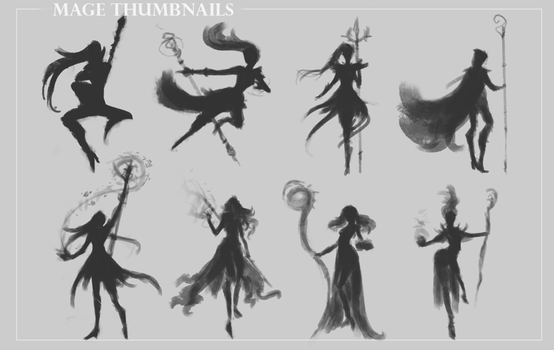Mage Thumbnails pt.1 by KenryChu