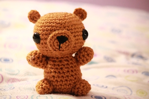 Honey Brown Teddy Bear 3 by theyarnbunny