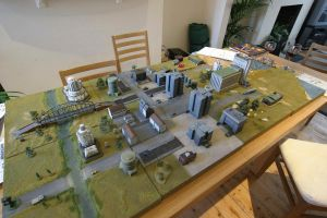 Battletech Terrain by inrepose