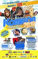 OCTOBER KOMIKON 2012 official poster by komikon