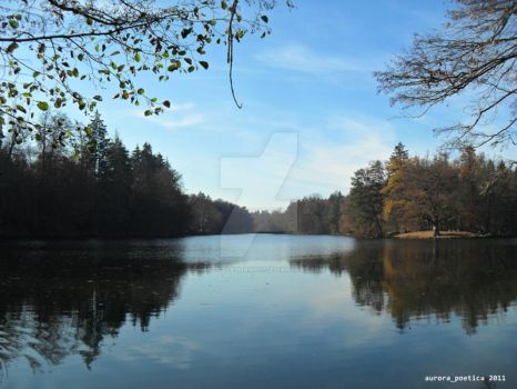 The Lake in Autumn 3 by white-elephant11