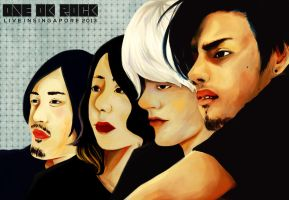 One Ok Rock, Live In Singapore by winterlaced