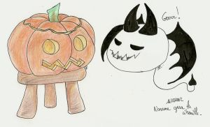 Noname vs Pumpkin by atsumimag