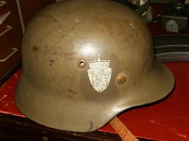 MY WWII Stahlhelm by hilliard