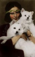 Ileana with dogs by VelkokneznaMaria