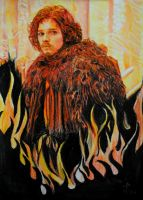 Kissed By Fire by ladysofhousen